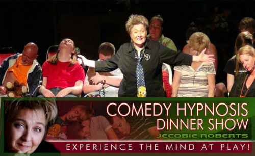 Jecobie Roberts Comedy Hypnosis Show Coupons